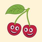 Cherry cartoon character