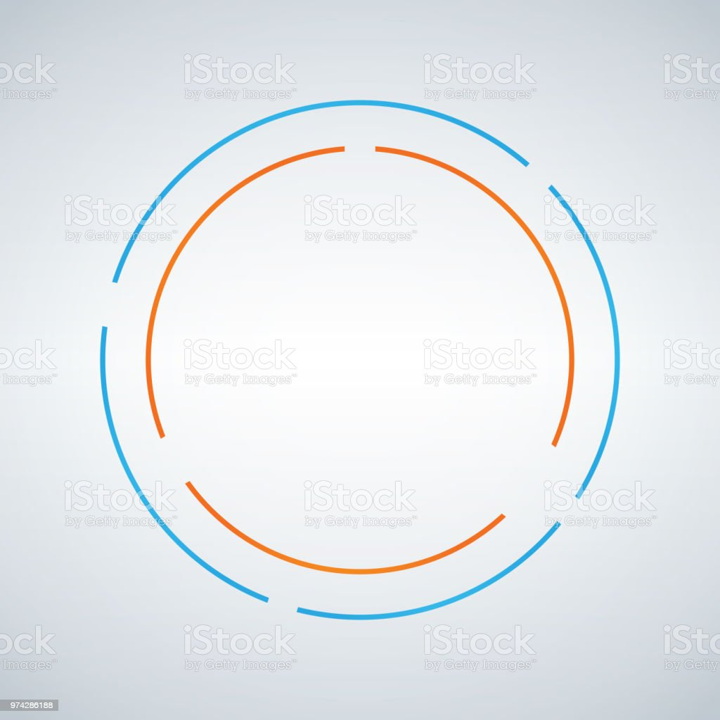two circe abstract vector design double circle shape emblem identity icon blue and orange symbol element isolated white background stock illustration download image now istock two circe abstract vector design double circle shape emblem identity icon blue and orange symbol element isolated white background stock illustration download image now istock