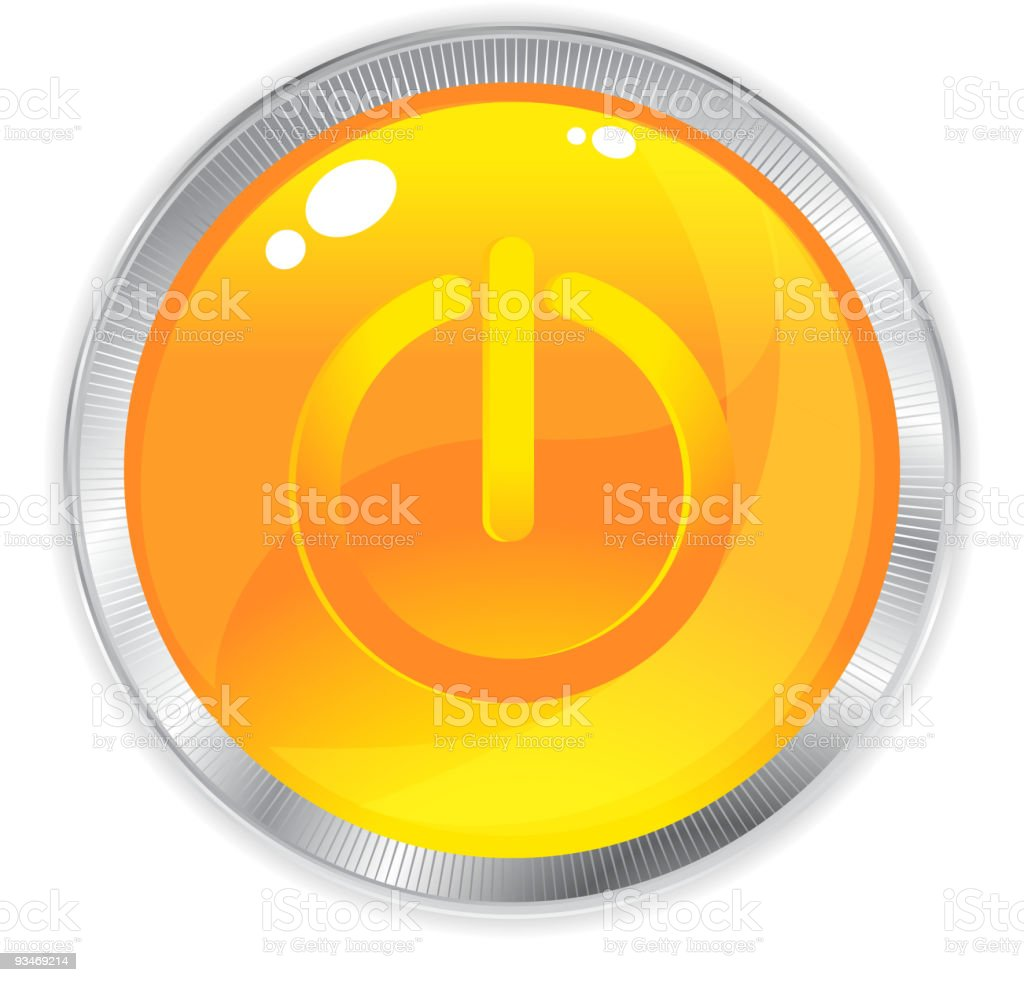 Two  credit orange internet button royalty-free two credit orange internet button stock vector art & more images of abstract