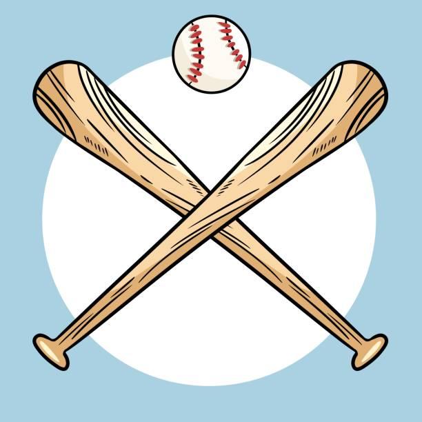 Download Best Cartoon Of The Baseball Bat Art Illustrations ...