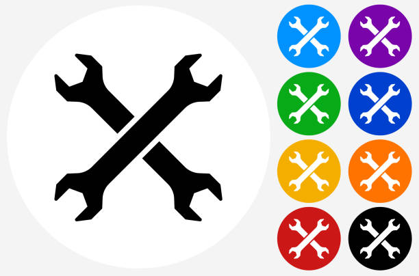 Top 60 Cross Wrench Clip Art Vector Graphics And Illustrations Istock