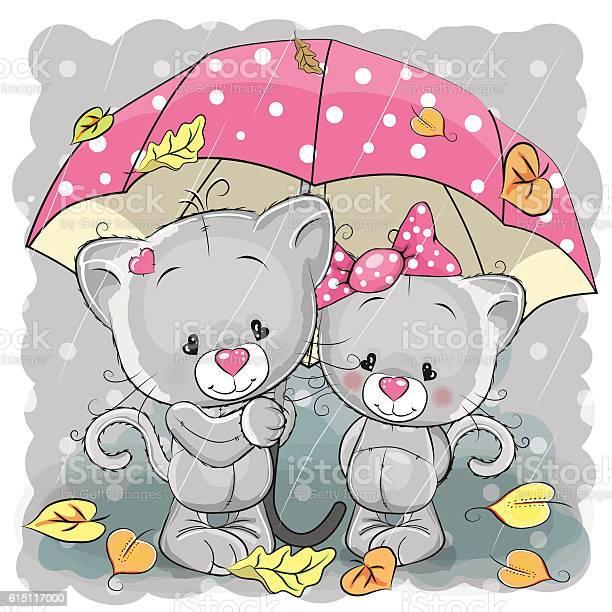 Two cute cartoon kittens with umbrella vector id615117000?b=1&k=6&m=615117000&s=612x612&h=p16trcfdfzuksmjcjmdousdofgzbg9s2jl97qvz 4em=