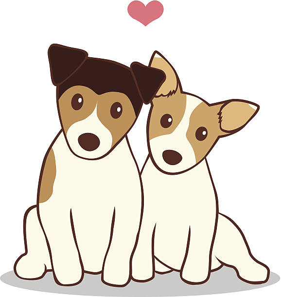 2 Hunde Clipart
