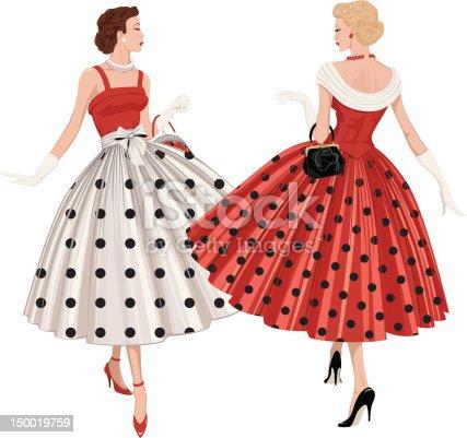 istock Two fashion women 150019759