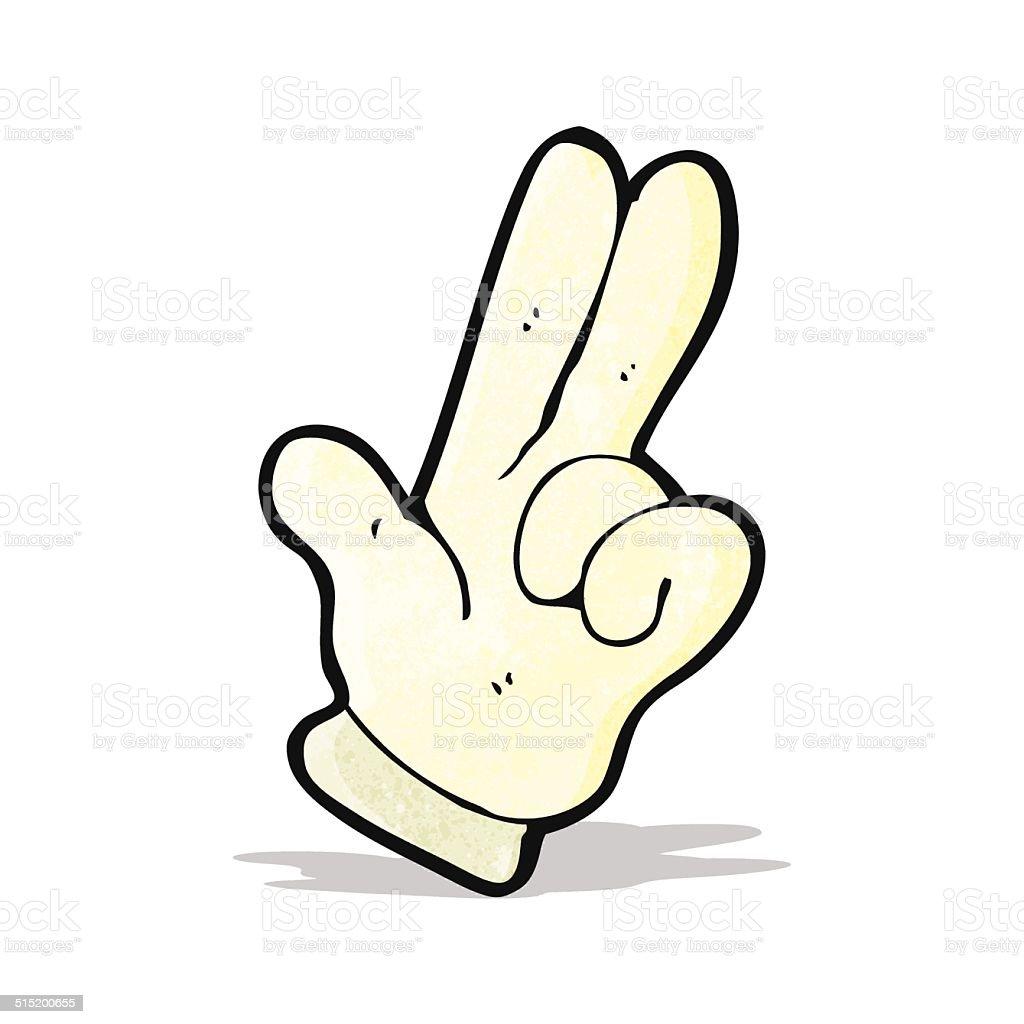 Two Fingers Clip Art