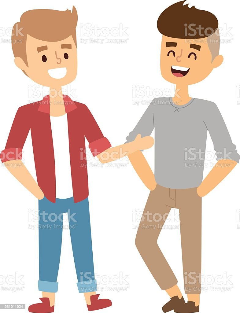 royalty free friends talking clip art vector images illustrations rh istockphoto com clipart of friends and family clipart of friends hugging
