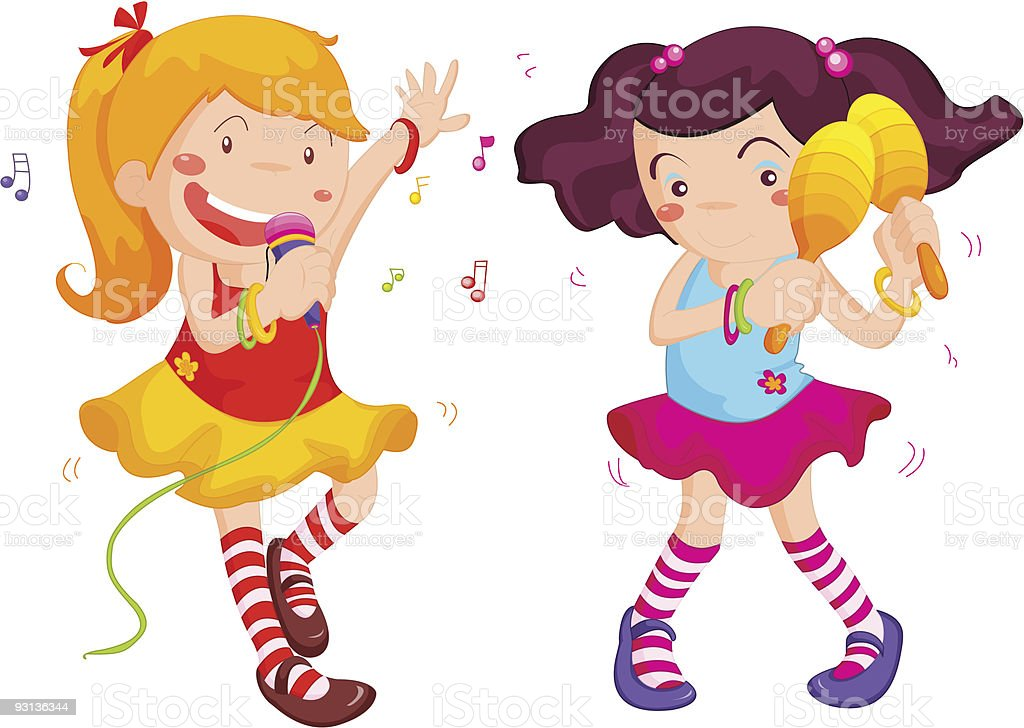 royalty free girl shaking clip art vector images illustrations rh istockphoto com free clipart of girl dancing