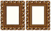two rectangular golden frames. Individual elements and textures. See my collections linked below:http://i161.photobucket.com/albums/t234/lolon5/frames.jpg