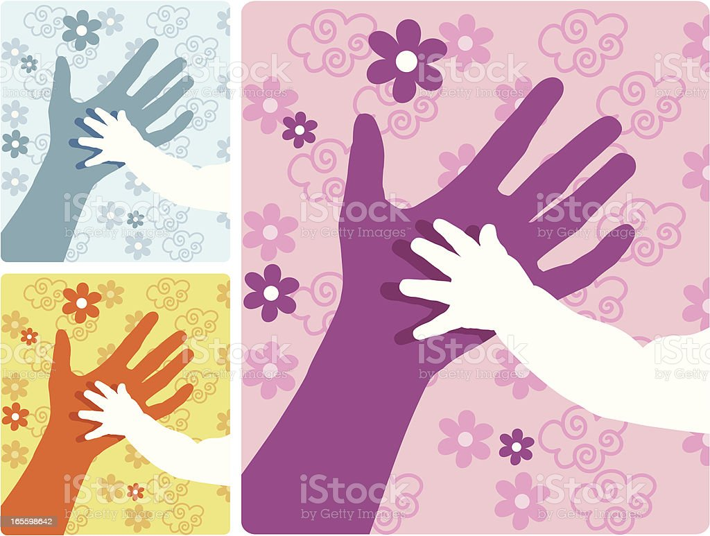 Two Hands royalty-free two hands stock vector art & more images of anniversary
