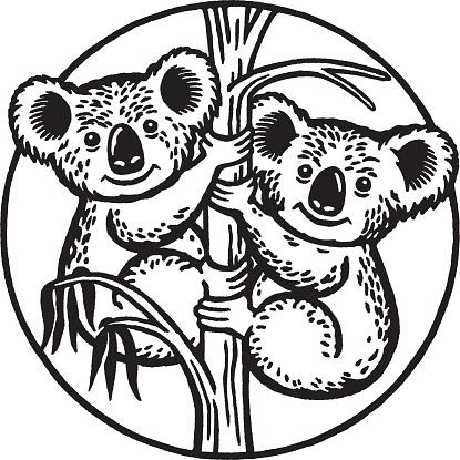 Two Happy Koalas