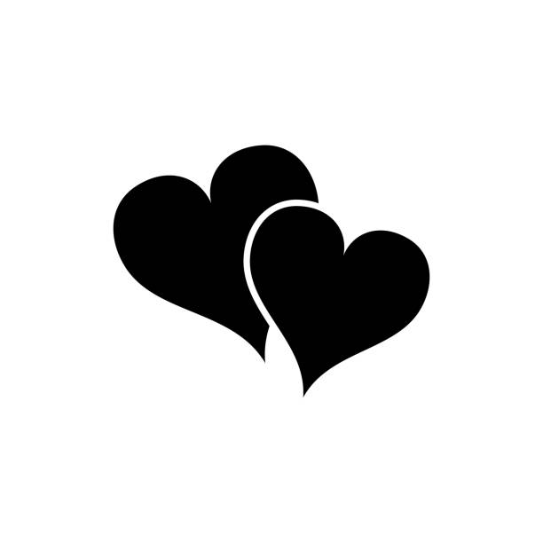 Download Best Two Hearts Illustrations, Royalty-Free Vector ...
