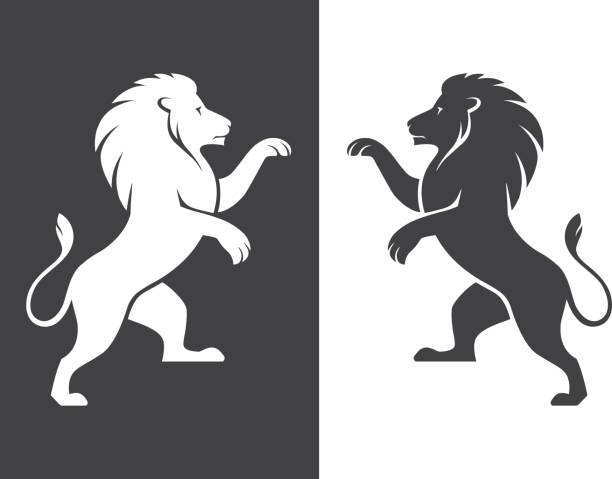 f3f79abfb5800 Top 60 Lion Rampant Clip Art, Vector Graphics and Illustrations - iStock