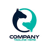 Two horses logo