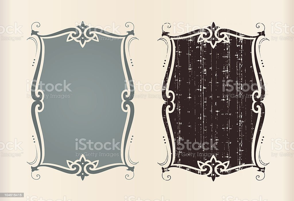 Two illustrations of identical shapes but different patterns royalty-free two illustrations of identical shapes but different patterns stock vector art & more images of abstract