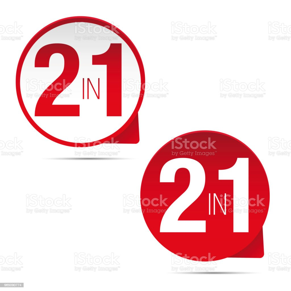 Two in One sign royalty-free two in one sign stock vector art & more images of backgrounds