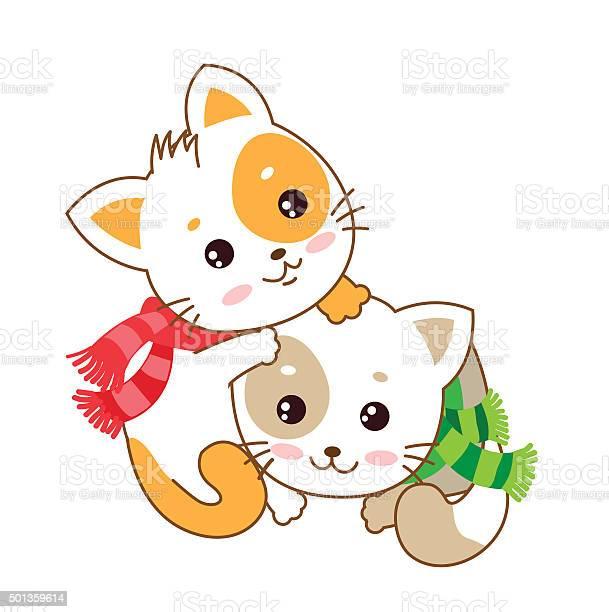 Two kittens vector kittens the cats play vector id501359614?b=1&k=6&m=501359614&s=612x612&h=j6phva6d7afcgubmen9nrmb2czuundayp2op6kkpuy8=