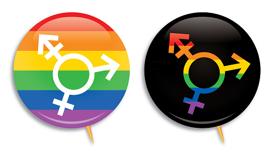 Two LGBTQ Campaign Buttons