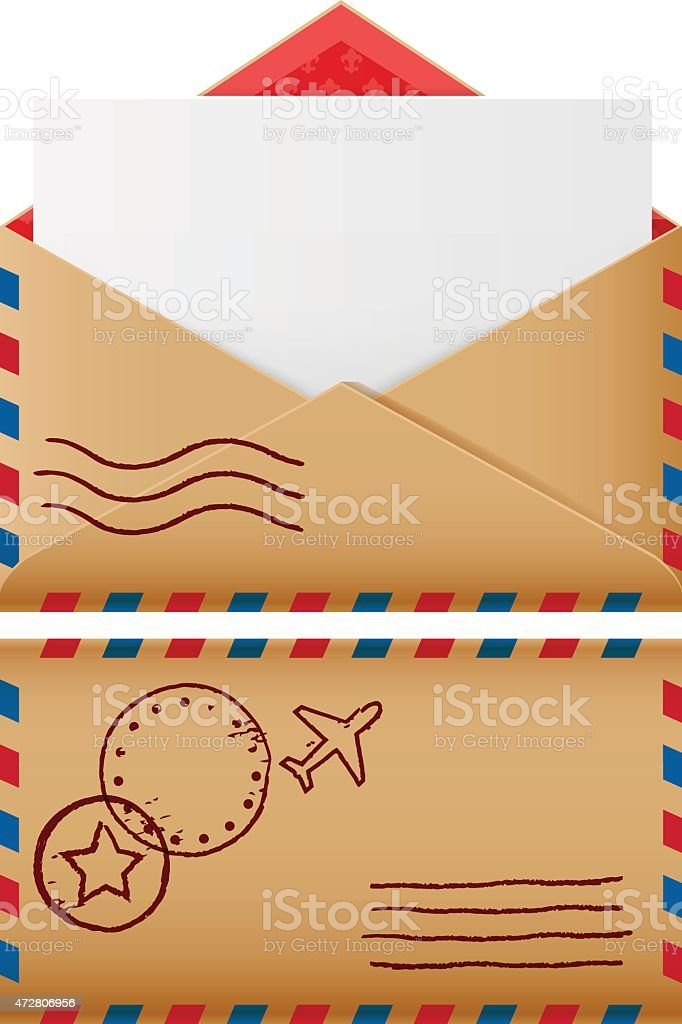 Two mail icons