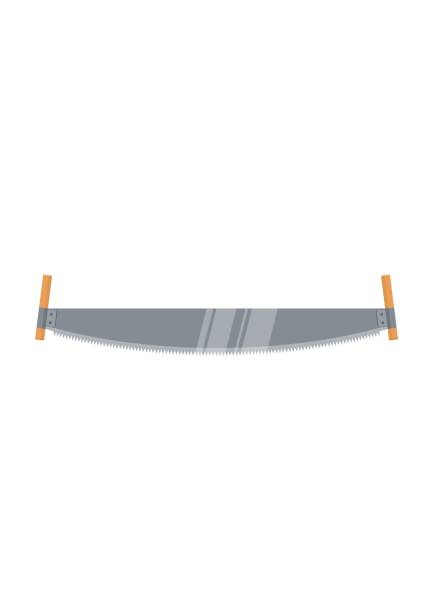 Best Crosscut Saw Illustrations, Royalty-Free Vector ...
