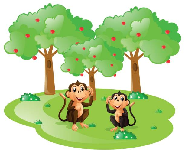 Tree Monkey Clip Art - Tree Monkey Clip Art - Free Transparent PNG Clipart  Images Download