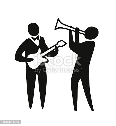 istock Two Musicians 1003196736