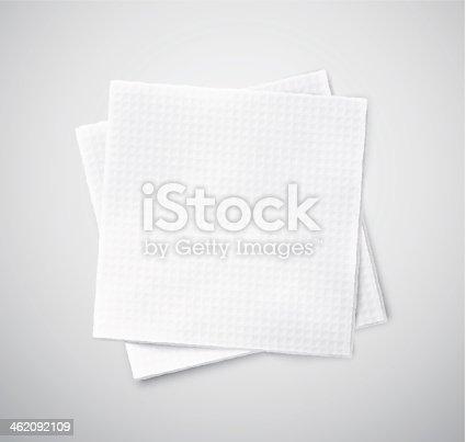 istock Two napkins 462092109