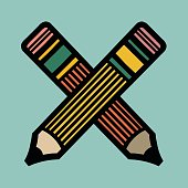 istock Two Pencils 1328207367