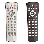 Free TV Remote Control Clipart and Vector Graphics ...