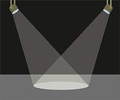 istock Two scene light vector illustration 1253326760