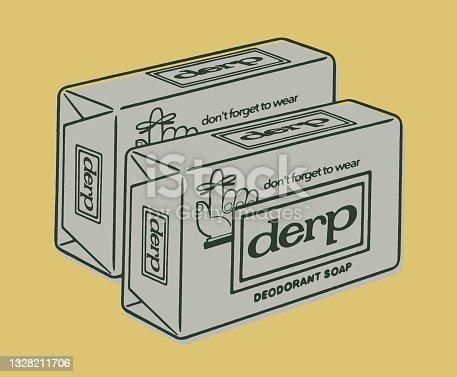 Dos cajas de jabón
