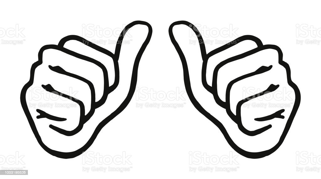 royalty free both thumbs up clip art vector images illustrations rh istockphoto com Double Thumbs Up Clip Art Thumbs Up Thumbs Down Clip Art