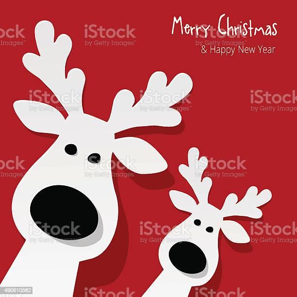 Two white reindeer on a red background vector id490610582?b=1&k=6&m=490610582&s=612x612&h=t8ivgr5hvnmfxg9ppuacnuwxjxgw1yqqcq1z 8zfewq=