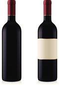 istock Two Wine Bottles 158424317