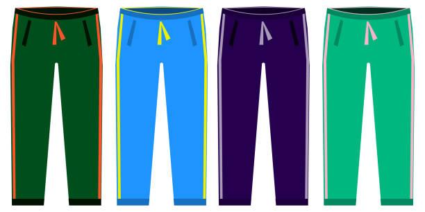 Royalty Free Jogging Pants Clip Art, Vector Images ...