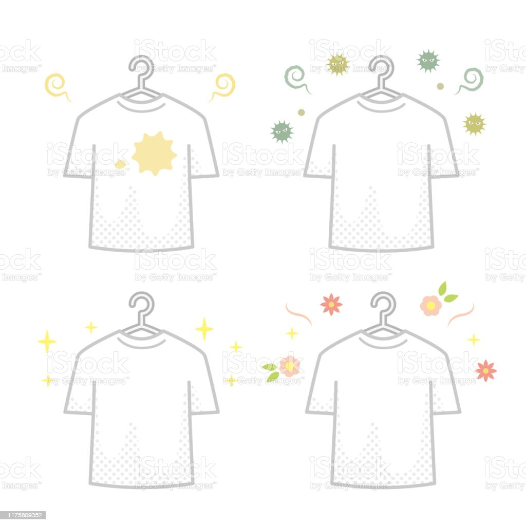 4 Types Of Tshirts Stock Illustration Download Image Now Istock
