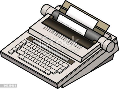 istock Typewriter 186336663