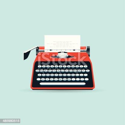istock Typewriter 485980515