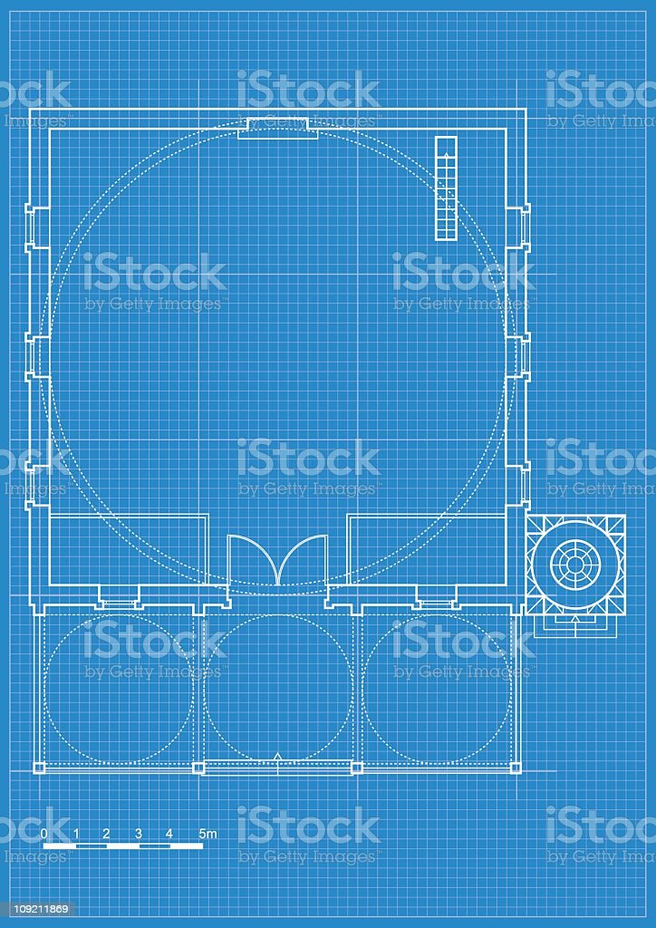 typical mosque plan royalty-free stock vector art