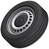 Typical vans wheel