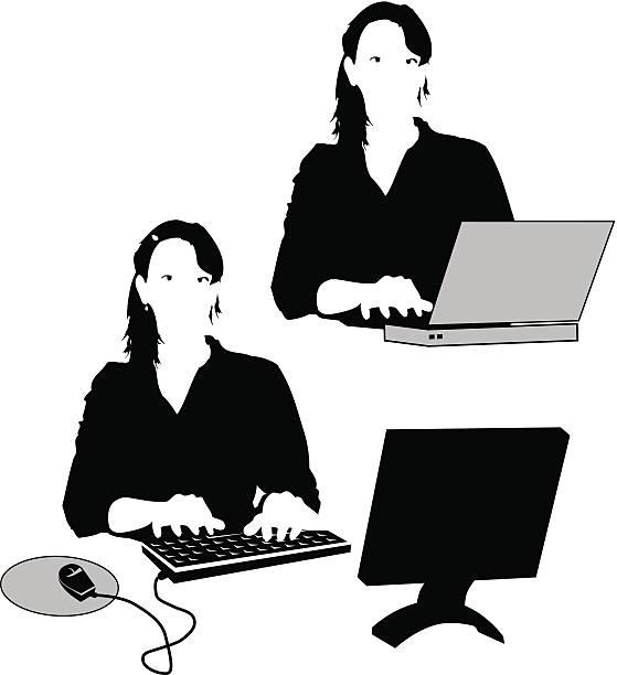 tippen-vektor - mauspad stock-grafiken, -clipart, -cartoons und -symbole