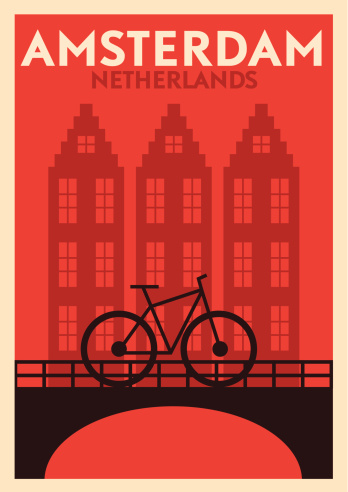 EPS 10. Easily editable Famous Travel Location Poster Series.