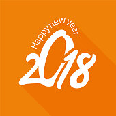 HAPPY NEW YEAR, typographic arrangement 3