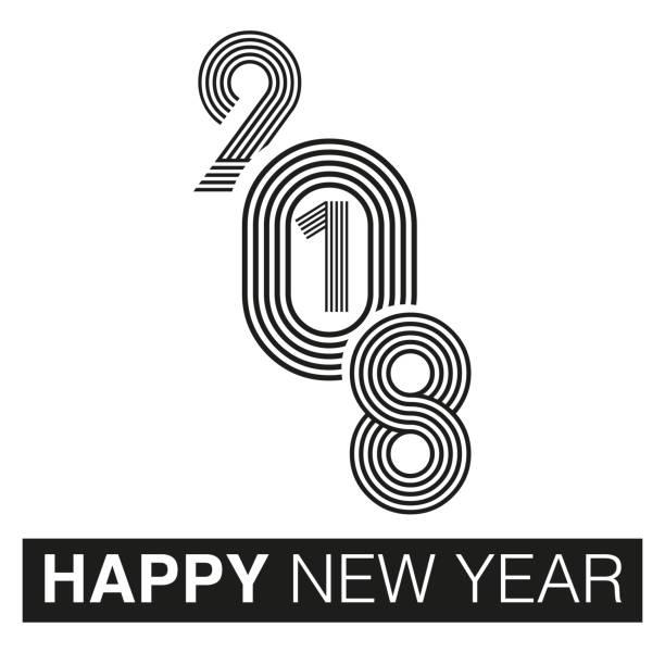 HAPPY NEW YEAR, typographic arrangement HAPPY NEW YEAR, typographic arrangement 2012 stock illustrations