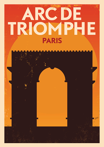 EPS 10. Easily editable Famous Travel Location Poster Series