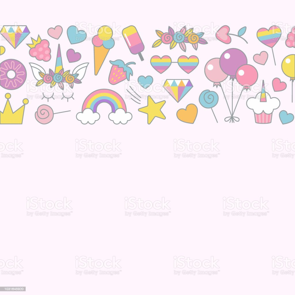 Typographic Vector Design Background For Greeting Birthday