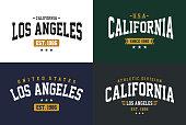 Typography Design California Los Angeles