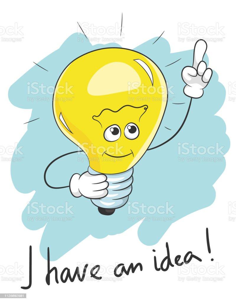 Slogan De Typographie Jai Une Idee Dampoule Vecteurs Libres De Droits Et Plus D Images Vectorielles De Affaires Istock