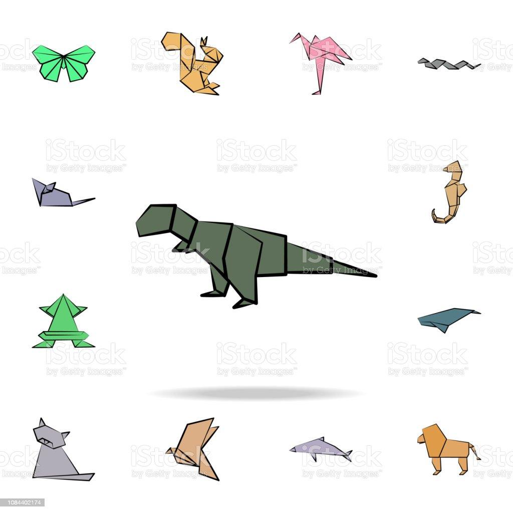 Origami Set - Dinosaurs - - Fat Brain Toys | 1024x1024