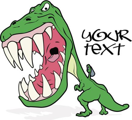 Download Tyrannosaurus Writing Graffiti Stock Illustration ...