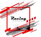 motor racing concept design background